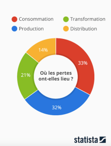 Infographie gaspillage alimentaire Save Eat