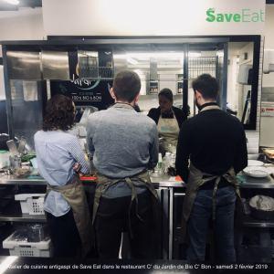 atelier de cuisine anti gaspi, Save Eat