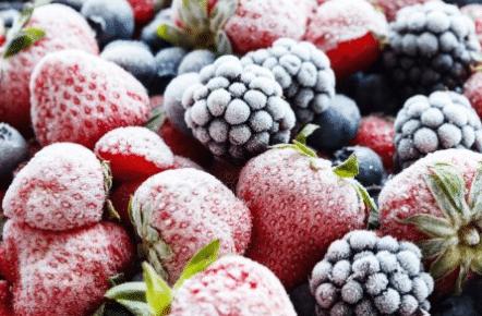 Que faire avec des fraises congelées ?