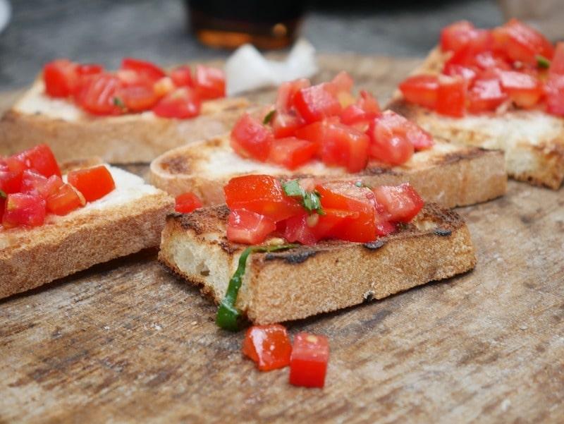 bruschetta save eat pain