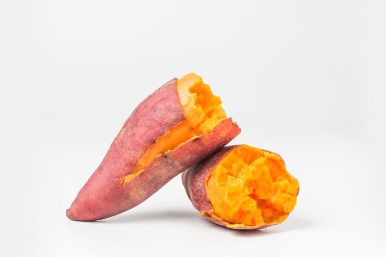 patate douce qui noircit