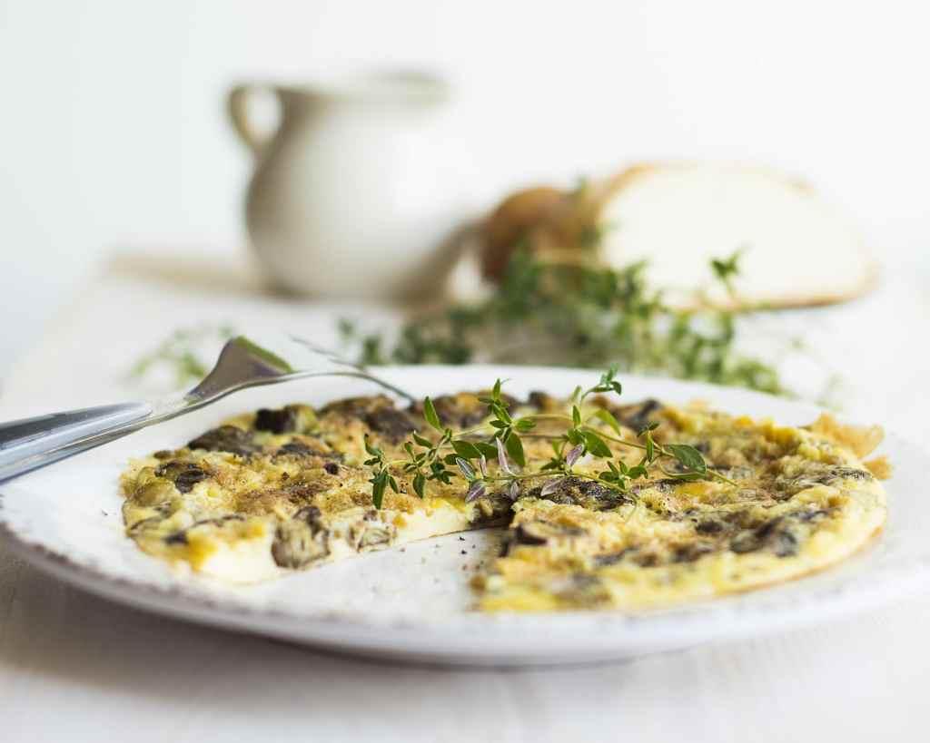 omelette de pissenlit anti-gaspi par save eat