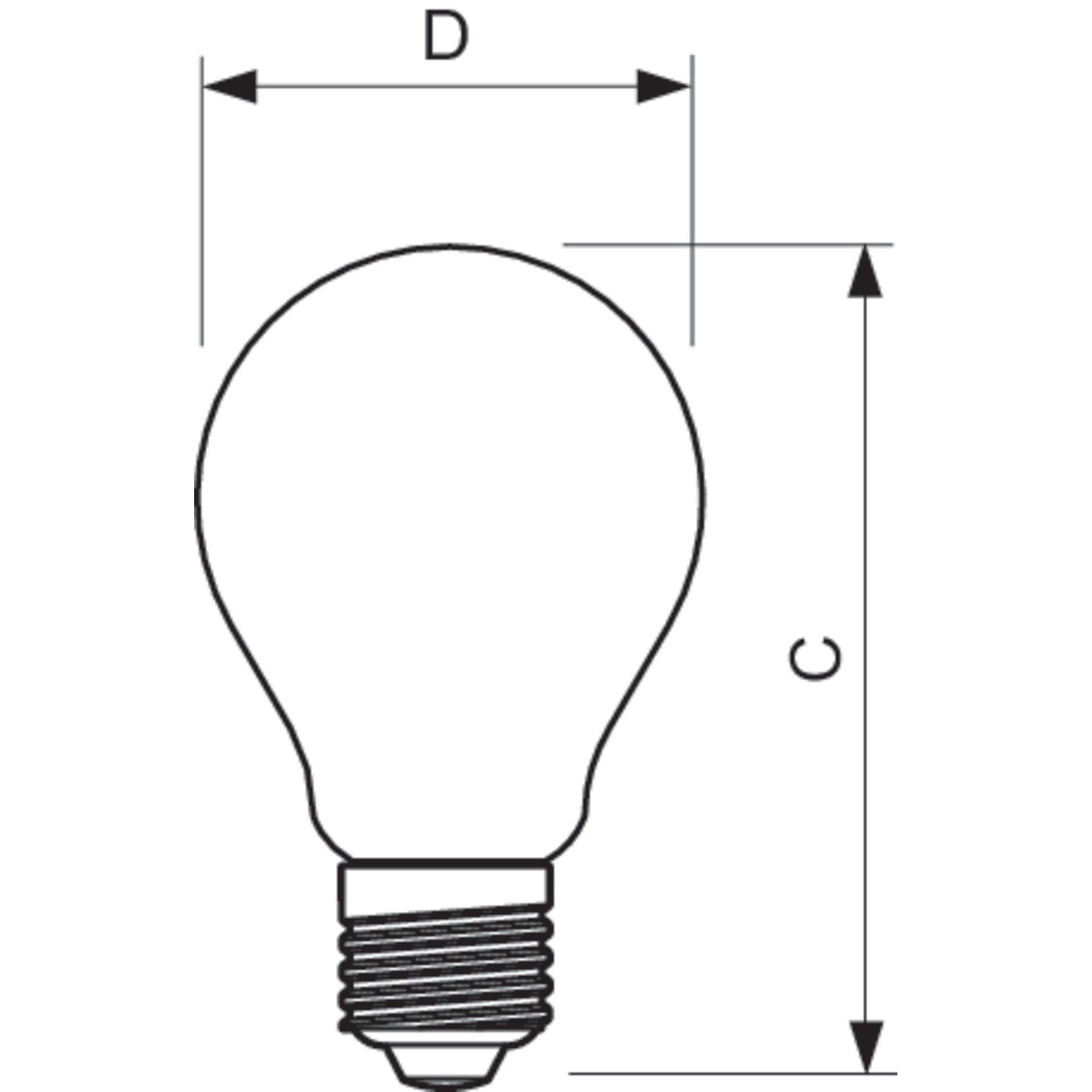 Philips LED Filament Bulb Gold A60 E27 7.5W 2000K