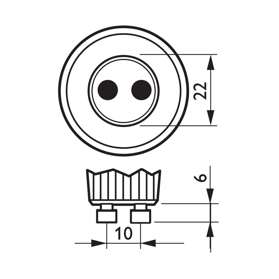 Philips MASTER LEDspot MV Value Dimmable GU10 5.4W 2700K