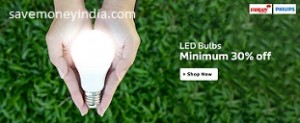 LED Bulbs & Tube Lights minimum 30% off from Rs. 89 – FlipKart image