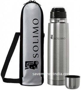 Solimo Thermosteel Flask 500ml Rs. 459, 1000ml Rs. 599 – Amazon image