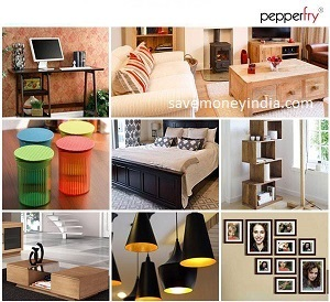 PepperFry Rs. 300 off on Rs. 599, Rs. 500 off on Rs. 999 image