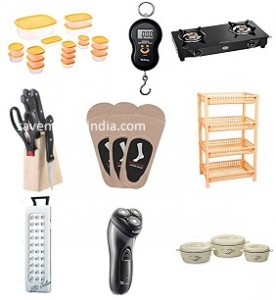 Sunflame GT Pride 2 Burner Glass Top Gas Stove Rs. 2442, DP Rechargeable Emergency Light Rs. 329 – Amazon image