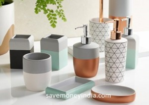Bathroom Accessories & Organization upto 50% off from Rs. 79 – Amazon image