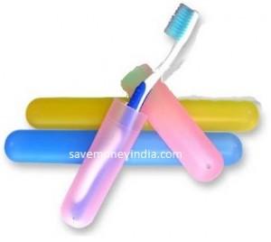Okayji Toothbrush Case Pack of 3 Rs. 61 – Amazon image