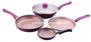 Wonderchef Royal Velvet Induction Base Cookware Set of 4 Rs. 1967 – Amazon image