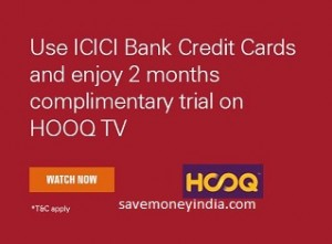 [ICICI Credit Cards] HOOQ TV 2 Months Subscription Rs. 2 – ICICIBank image