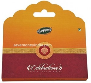 Happilo Premium Dry Fruits Gift Box 220gm + Rs. 200 BookMyShow Movie Voucher Rs. 395 – Amazon image