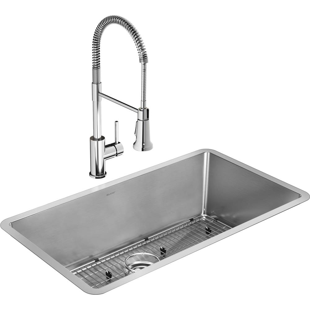elkay kitchen sink and faucet combos