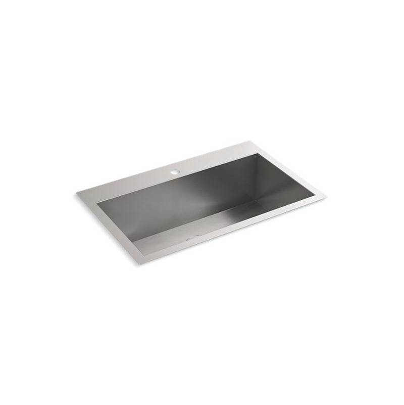 vault 30 1 2 x 20 top mount undermount single bowl large kitch