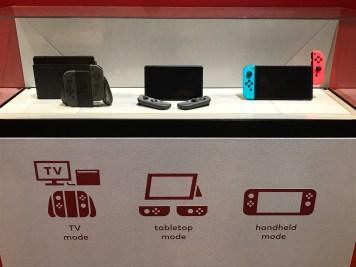 Nintendo Switch Event Grand Palais : types d'utilisations possibles