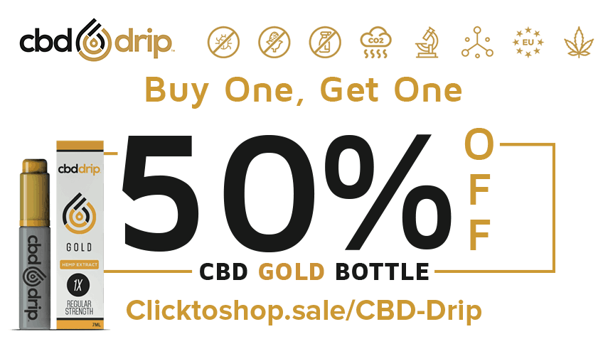 CBD Drip 50% OFF Gold Discount Promo Online Save On Website