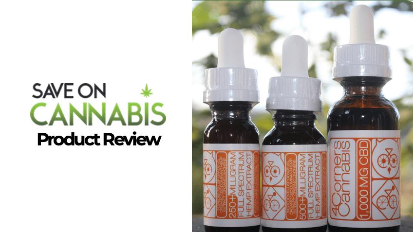 4 Corners Cannabis Review - CBD Vape Juice Liquid