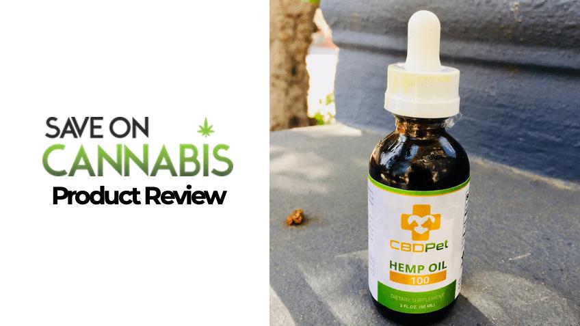 CBD Pet Review - Save On Cannabis