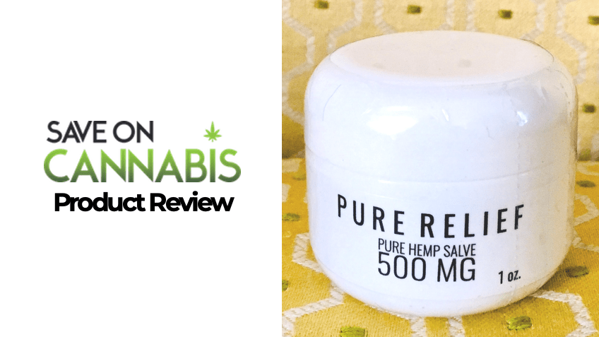 Pure Relief Review - CBD Review - Save On Cannabis
