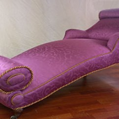 Fainting Sofa Purple How Much Does It Cost To Reupholster A 3 Seater Uk Upholstery Fabric Forum 18th Century Couch