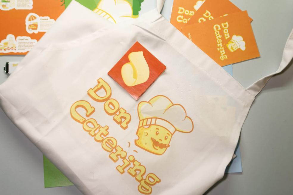 Don Cruton Branding apron