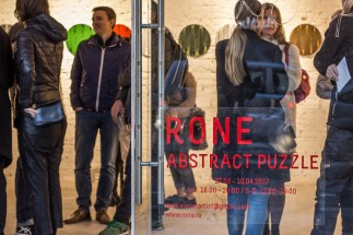 Rone/ Abstract Puzzle Kube Musette