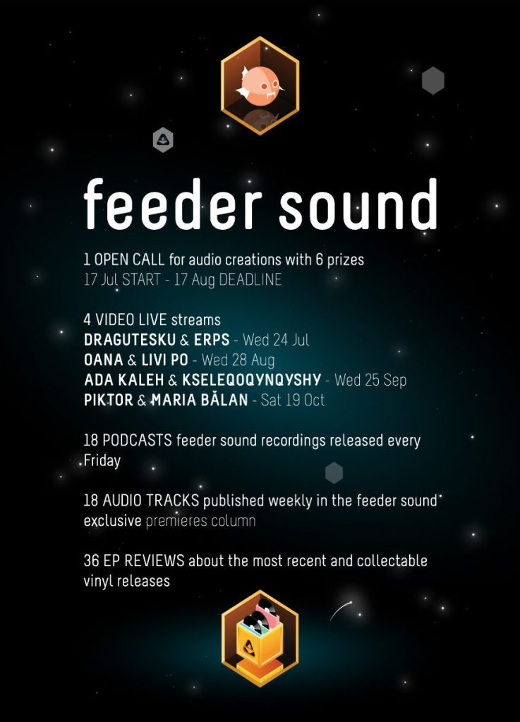 This is your chance to join the exciting feeder sound project
