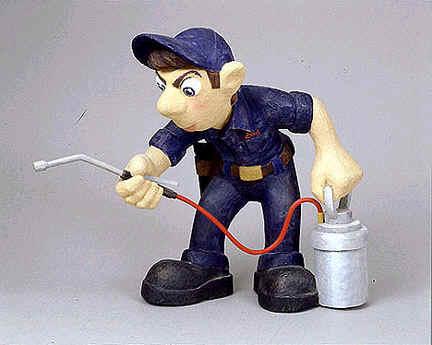 spraying for pests