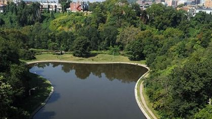 Panther Hollow Lake in Schenley Park