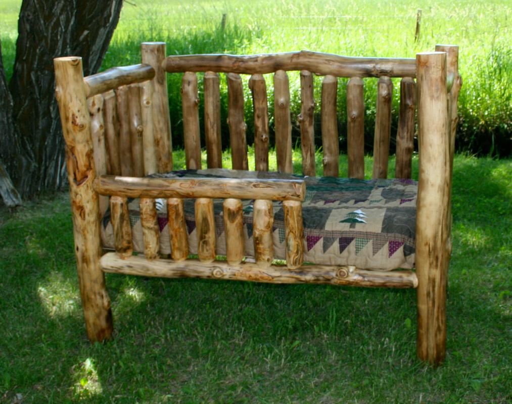 Log Beds and Dressers  Savery Creek Furniture