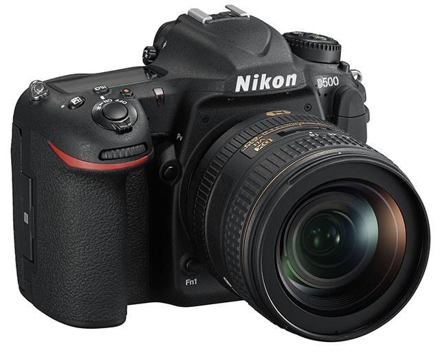 Nikon D500 tampak depan