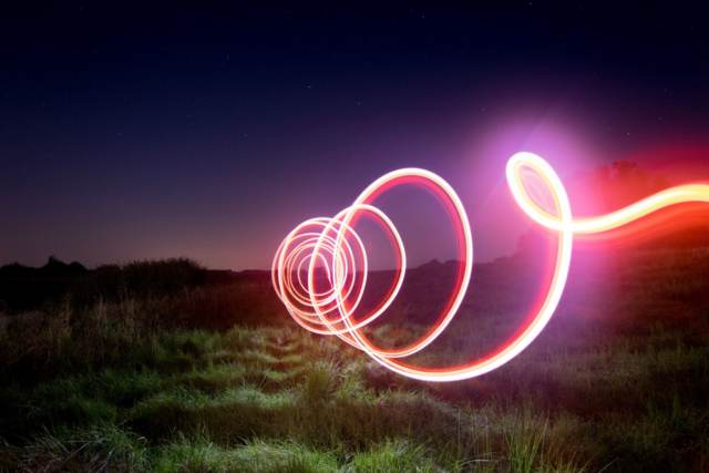 foto light painting