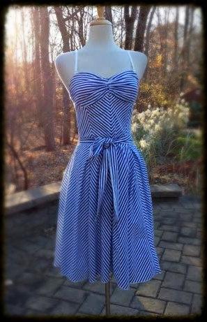 1960s-white-striped-nautical-cotton-dress-2