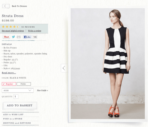 Anthropologie-Strata-Dress