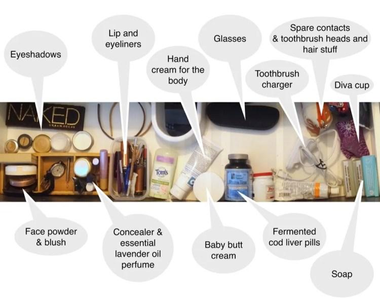 Bathroom-Toiletries-Shower-save-spend-splurge-saverspender-Drawer
