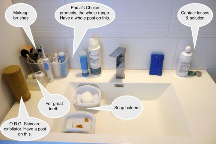 Bathroom-Toiletries-Shower-save-spend-splurge-saverspender-Sink