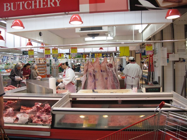 Beijing-China-Photograph-Whole-Animals-Butcher-Carrefour