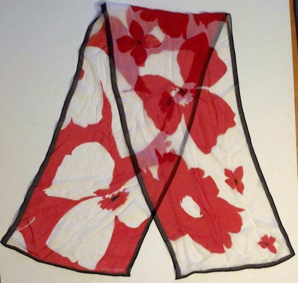 Ellen-Tracy-Red-White-Flowered-Negative-Print-Silk-Scarf1