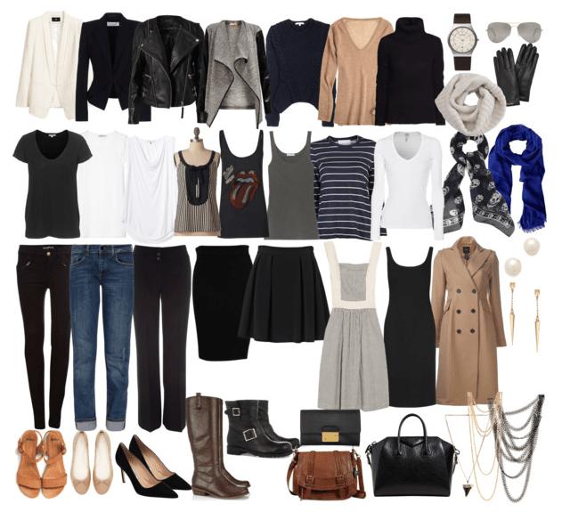 French-Wardrobe-Parisian-Fashion-List-Essentials-Items