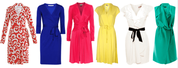 Minimalist-Wardrobe-Essentials-Women-Wrap-Dresses