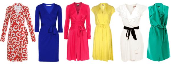 Minimalist-Wardrobe-Essentials-Women-Wrap-Dresses