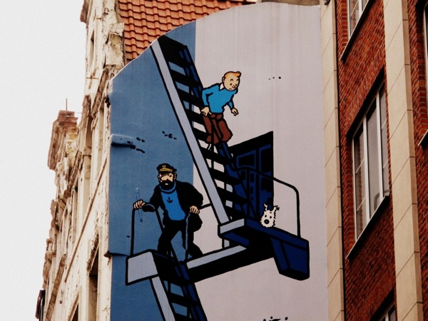 Photograph-Travel-Brussels-Belgium-Tintin