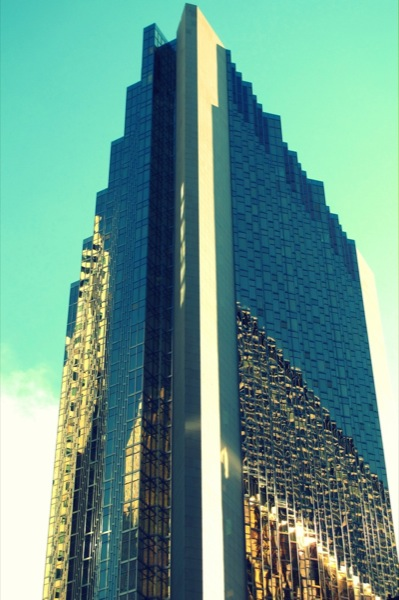 Photograph-Travel-Toronto-Ontario-Canada-Building-Gold-Downtown-Core