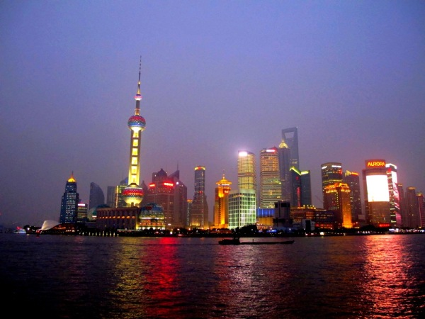 Shanghai-Photograph-The-Bund-At-Night