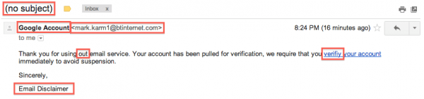 Stupid-Fake-Google-Email-Scammers-Email-Sample 2