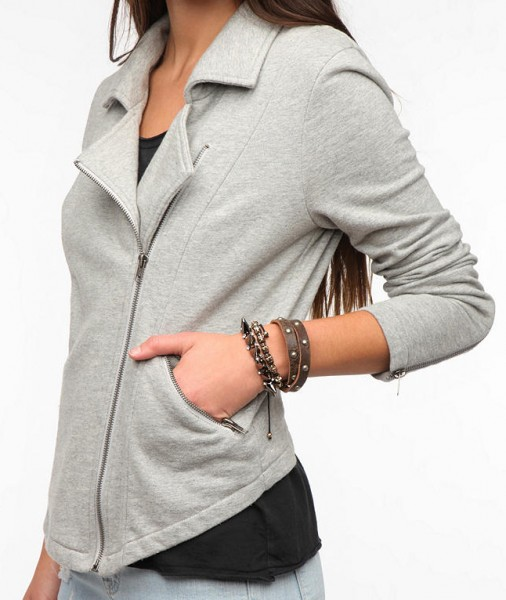 Urban-Outfitters-Silence-and-Noise-Freeway-Moto-Grey-Jacket-Side