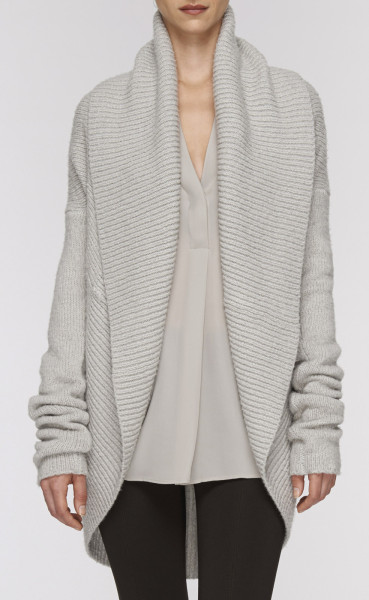 Vince-Circle-Cardigan-Pebblestone