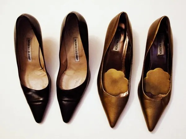 Wardrobe-Closet-Shoes-Manolo-Blahnik-Newcio-Pumps-Steve-Madden-Bronze-Kitten-Heel