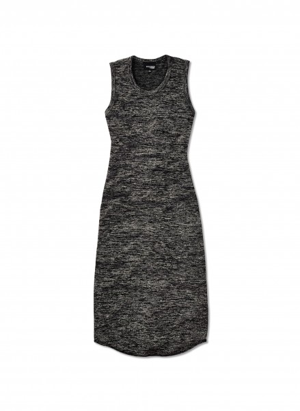 Wilfred-Free-Bruni-Dress-Front-Heather-Black